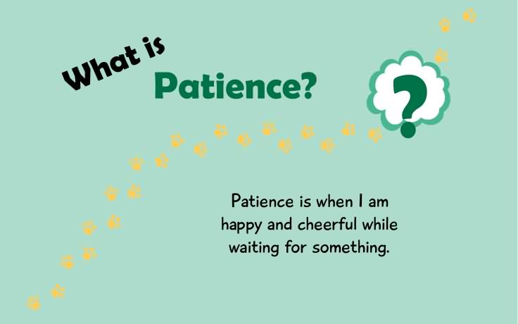 Tiny Thoughts On Patience Icharacter