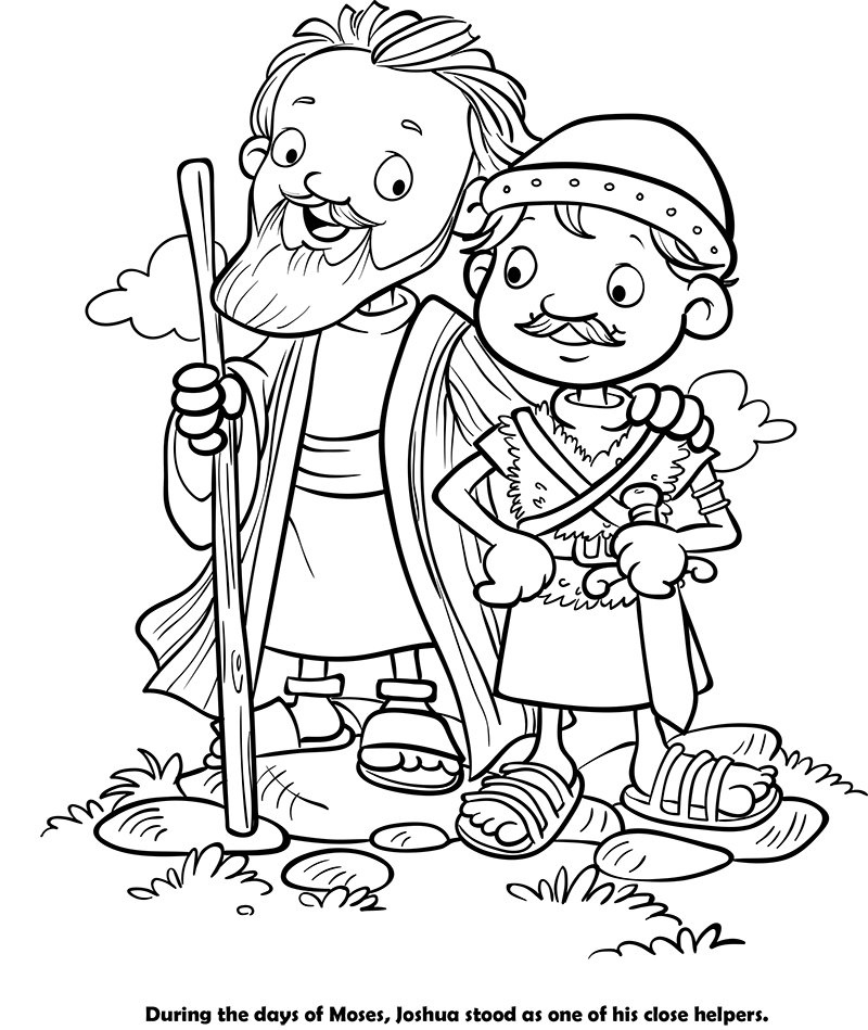 joshua 24 coloring pages - photo#25