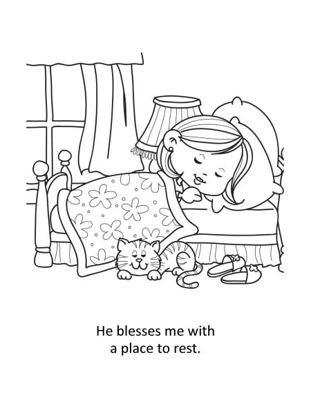 Psalm 23 – Coloring and Activity Book   iCharacter Ltd ...