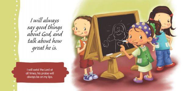 Psalm 34 for children