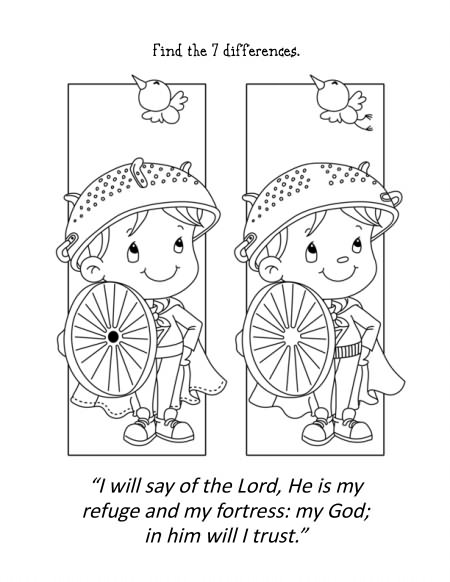 psalm 23 1 coloring pages