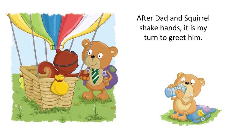 shy children story