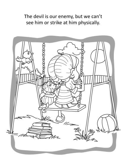 Ephesians 6 Coloring and Activity