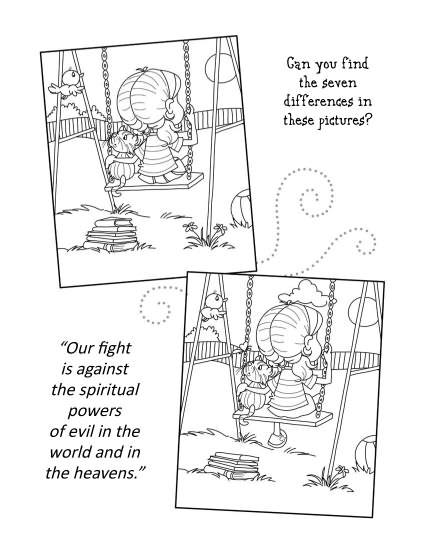 Ephesians 6 - Coloring and Activity Book