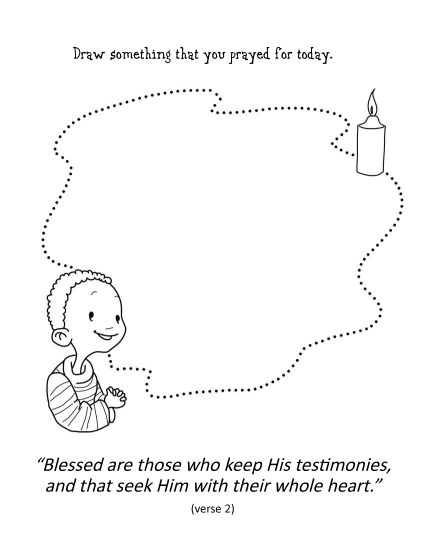 coloring pages for psalm 119 - photo#29