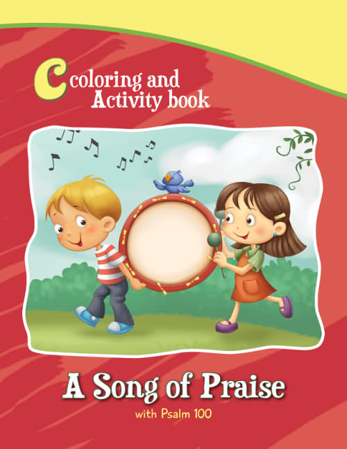 Psalm 100 – Coloring and Activity Book – iCharacter.org