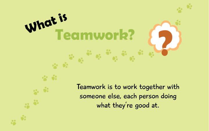 Tiny Thoughts On Teamwork Icharacter