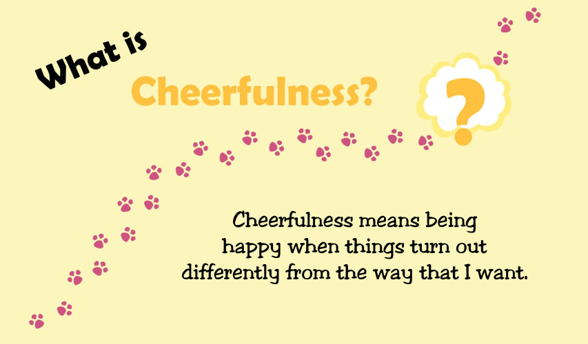 Tiny Thoughts On Cheerfulness Icharacter